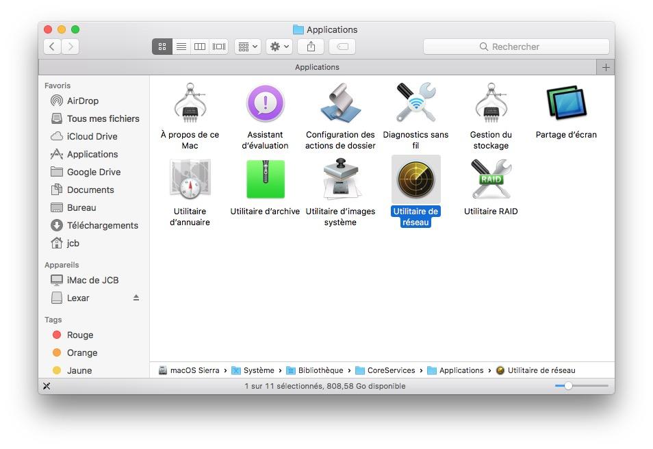 Visualizar la velocidad del tráfico de red en Mac (Wi-Fi, Ethernet, 4G...) 1