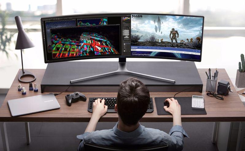 Samsung ahora está vendiendo esta monstruosa pantalla de videojuegos de 49 pulgadas! 1