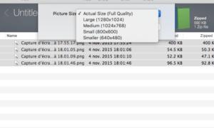 Descomprimir ZIPs en Mac OS X y macOS
