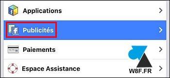 Facebook móvil: desactivar el seguimiento de anuncios 4