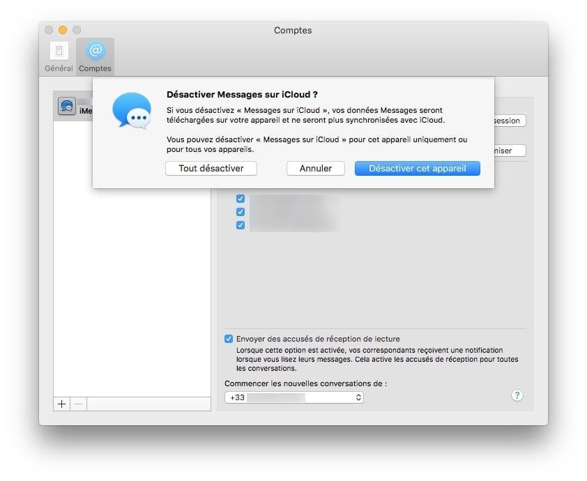 Habilitar mensajes en iCloud para Mac y iPhone / iPad