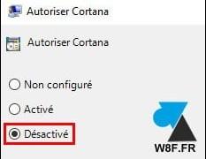 Windows 10: Desactivar el asistente de voz de Cortana