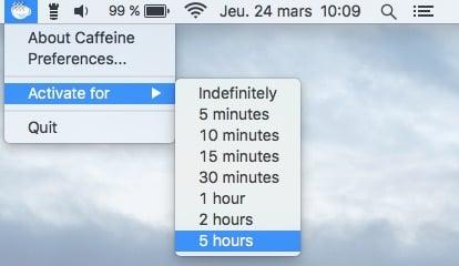 Desactivar el modo de espera de un MacBook de forma temporal o permanente