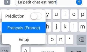 Desactivar la corrección automática en iPhone / iPad