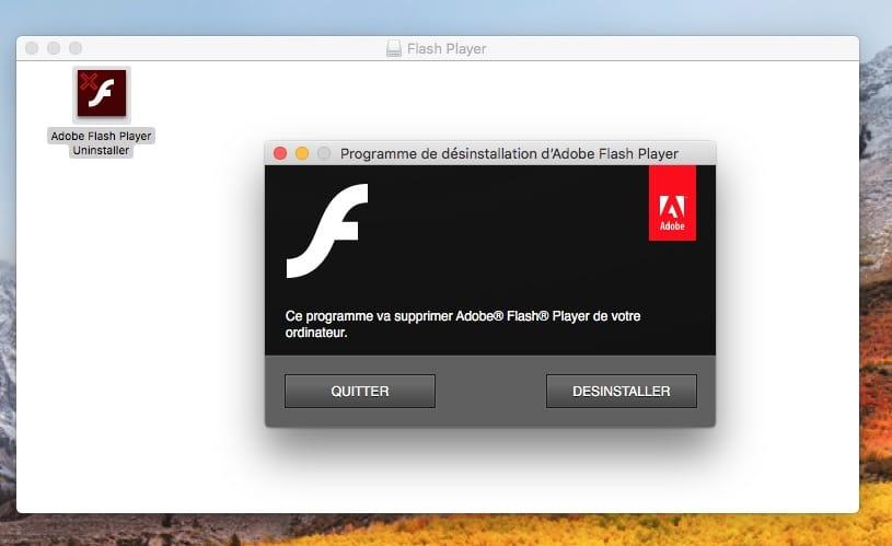 Instalar Flash Player macOS High Sierra (10.13)