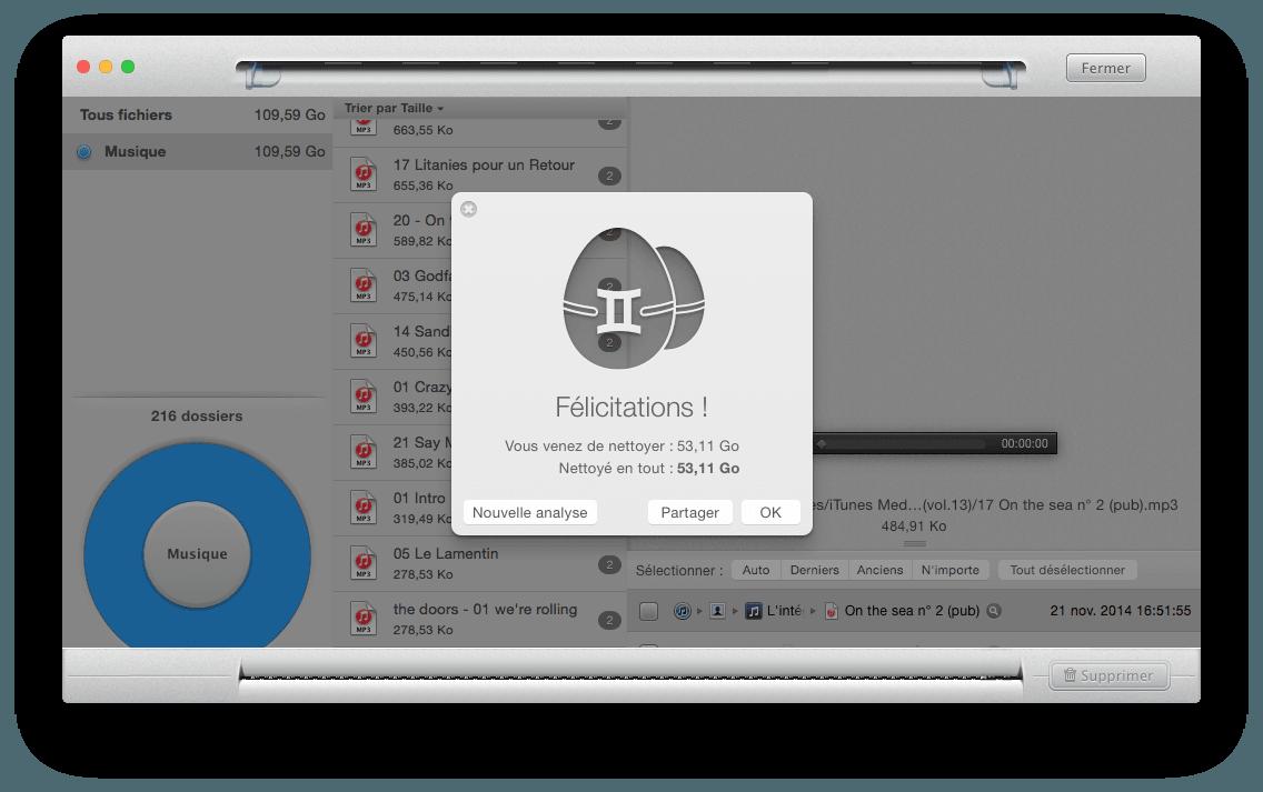 Eliminar duplicados de Yosemite (Mac OS X 10.10)