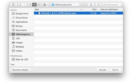 Degradación de iOS 10 a iOS 9 : instrucciones de uso