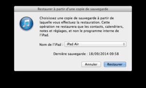Descargar iOS 8 a iOS 7: ¿cómo volver?