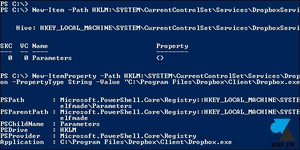 Crear un servicio de Windows Server para Dropbox