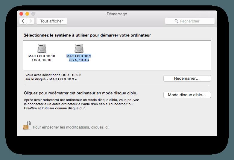 Cómo hacer un Yosemite Mavericks de arranque dual (Mac OS X 10.10 / 10.9)