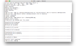 Crear un DVD de arranque de Yosemite (Mac OS X 10.10)