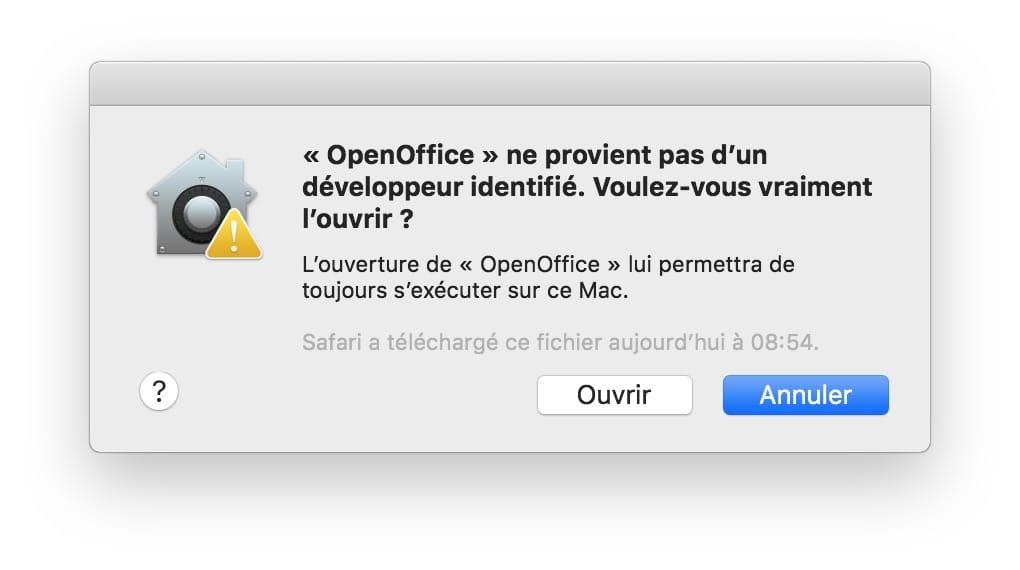 Abrir aplicaciones no identificadas en macOS Mojave (10.14) 3