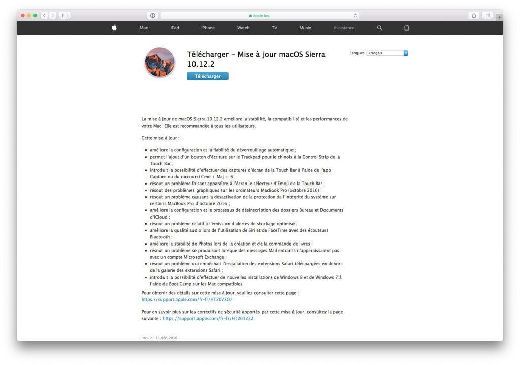 Descarga las actualizaciones de Mac directamente (Sierra, El Capitan...) 1