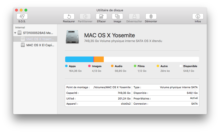 Utilidad de disco El Capitan (Mac OS X 10.11) 6