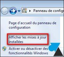 Desinstalación de una actualización de Windows 2