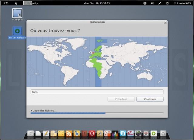Luninux OS, instalarlo en un disco duro en blanco 5