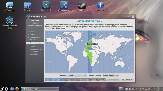 NetRunner 13.06, instalación 7