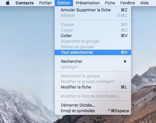 Exporta tus contactos de iPhone, iCloud y Mac 3