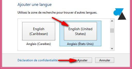 Cambio del idioma del teclado en Windows 6