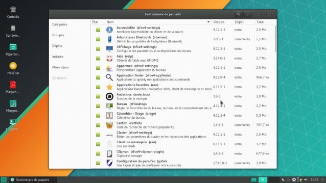Otra actualización de Manjaro Linux - 17.1.0 5