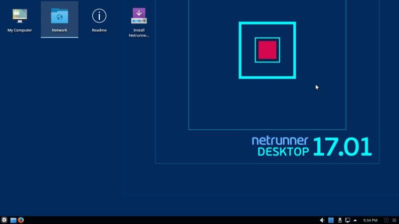 Netrunner 17.01 con Plasma KDE 1