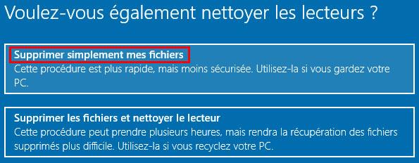 Restaurar o reinstalar un PC con Windows 10 6