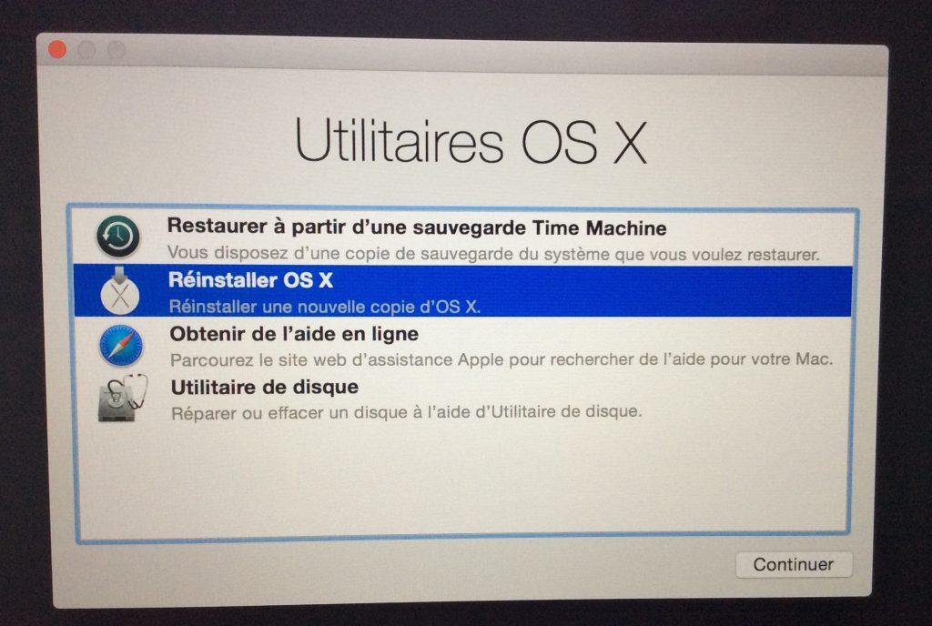 Vuelve a instalar tu MacBook como lo hiciste originalmente 3