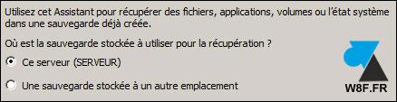 Restaurar un archivo con la herramienta Copia de seguridad de Windows Server 4