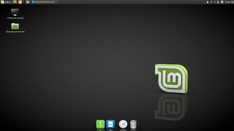 Un muelle para Linux Mint 18 7