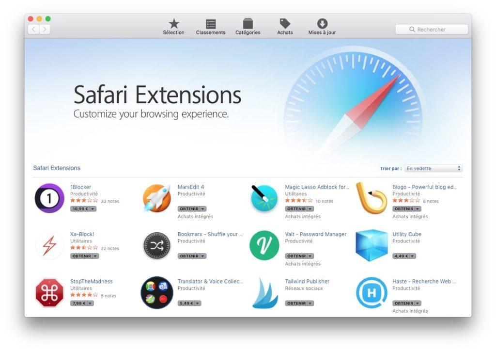Instalar una extensión de Safari en Mac (OS X / macOS) 2