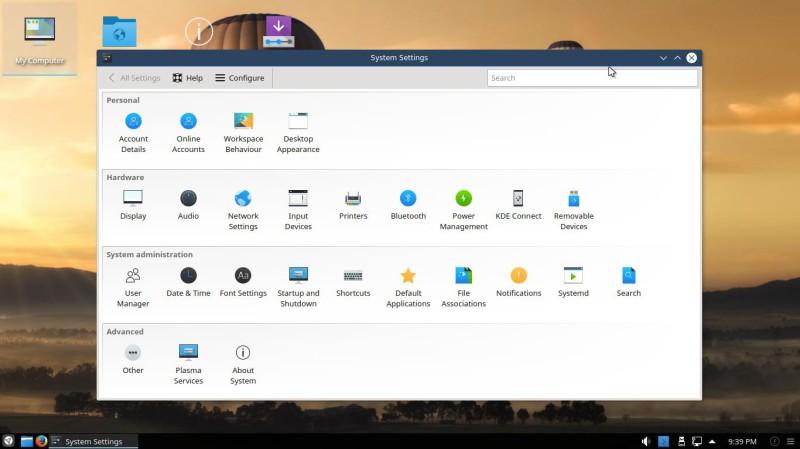 Netrunner 17.01 con Plasma KDE 6