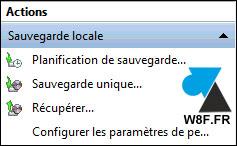Configuración del software de copia de seguridad de Windows Server 2