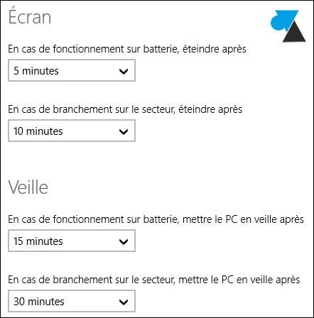Windows 8.1: Cambio de la configuración del modo de espera 5