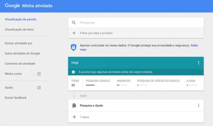 Evitar compartir su información personal con Google 1