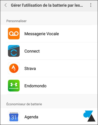 Xiaomi: configurar el ahorro de batería