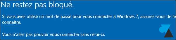 Cancelar la actualización de Windows 10 y volver a Windows 7 7