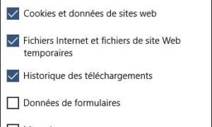 Edge: borrar el historial de la navegación en Internet