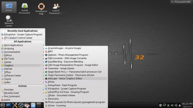 PCLinuxOS versión 08 2012 5