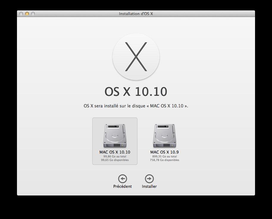 Cómo hacer un Yosemite Mavericks de arranque dual (Mac OS X 10.10 / 10.9) 4