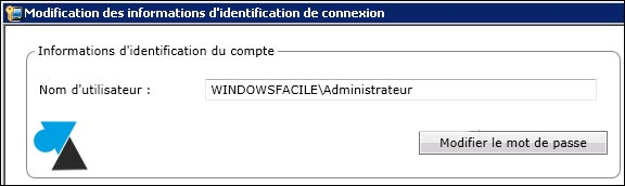 Symantec Backup Exec: modificar la cuenta de inicio de sesión 4