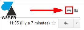 Gmail: imprimir un mensaje 2