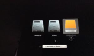 El Capitan (Mac OS X 10.11) crea un disco USB de arranque