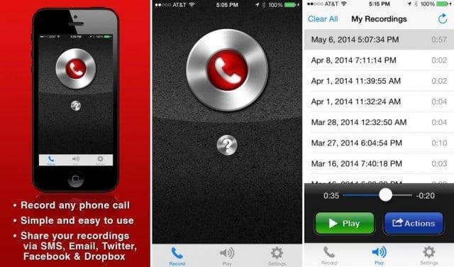 Graba tus conversaciones telefónicas con Android o iPhone