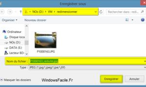 Windows 8: Cambiar el tamaño de una imagen