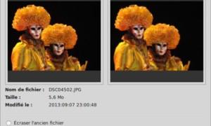 Cambiar el tamaño de una foto o imagen con Gthumb