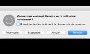 Forzar el cierre de una aplicación de Mac OS X El Capitan (10.11)