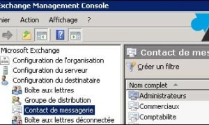 Exchange: ocultar un usuario de la lista de direcciones compartida