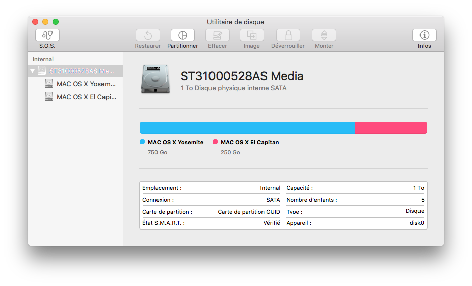 Utilidad de disco El Capitan (Mac OS X 10.11) 2