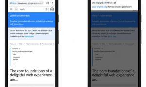 Chrome para Android ahora acelera las páginas HTTPS en conexiones lentas