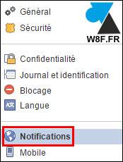 Desactivar las notificaciones de correo electrónico de Facebook 3